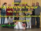 Prijsuitreiking Sjoelclub de Zoevende Schijf