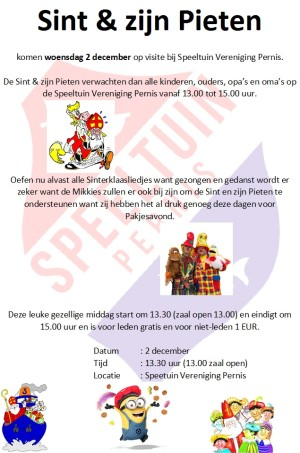2015, december 2 - Sinterklaasfeest