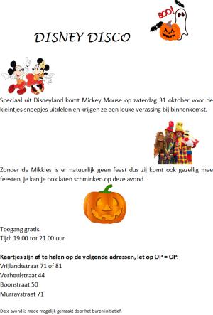 Disney Disco Halloween 2