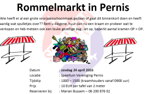 Rommelmarkt in Pernis